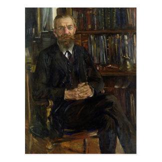 Portrait of Dr Edward Meyer  1910-11 Postcard