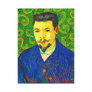 Portrait of Dr. Felix Rey Canvas Print