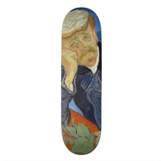 Portrait of Dr Gachet by Vincent Van Gogh 21.6 Cm Skateboard Deck