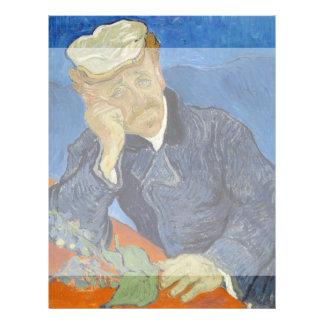 Portrait of Dr Gachet by Vincent Van Gogh Custom Flyer