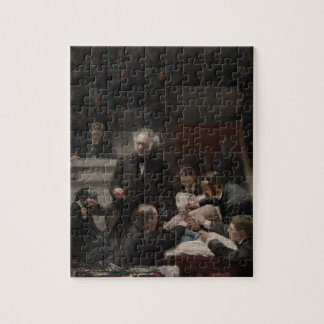 Portrait of Dr. Samuel D. Gross by Thomas Eakins Jigsaw Puzzle