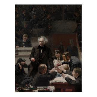 Portrait of Dr. Samuel D. Gross by Thomas Eakins Postcard