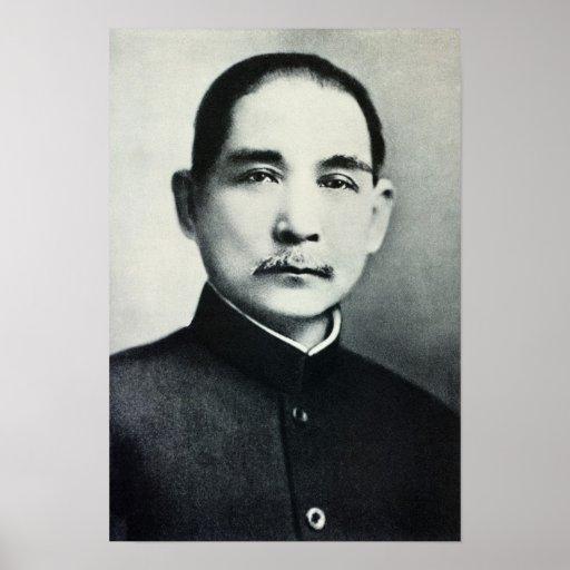 Portrait of Dr. Sun Yat-Sen Print