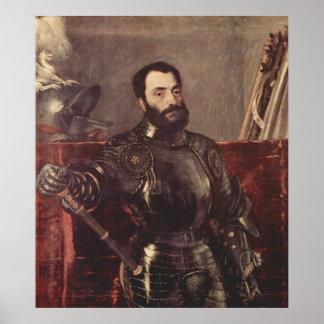 Portrait of Duke of Urbino Poster