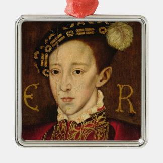 Portrait of Edward VI Metal Ornament