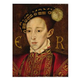 Portrait of Edward VI Postcard