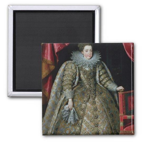 Portrait of Elisabeth of France  1615 Magnet