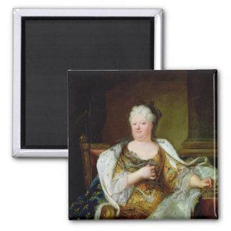 Portrait of Elizabeth Charlotte of Bavaria Refrigerator Magnet