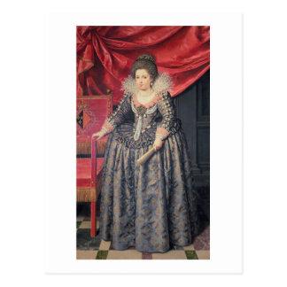 Portrait of Elizabeth of France (1602-44) daughter Postcard