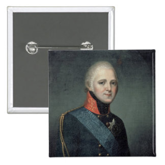 Portrait of Emperor Alexander I , 1804 Pinback Buttons