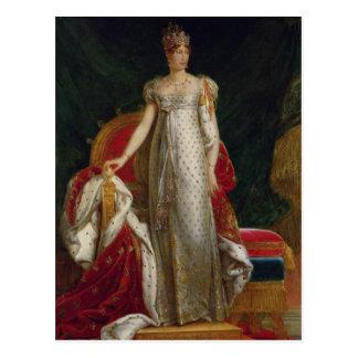 Portrait of Empress Marie Louise  of France Postcard