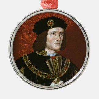 Portrait of English King Richard III Ornament