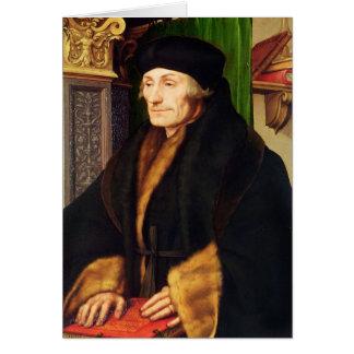 Portrait of Erasmus, 1523 Card