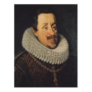Portrait of Ferdinand II  of Habsbourg, 1622-37 Postcard