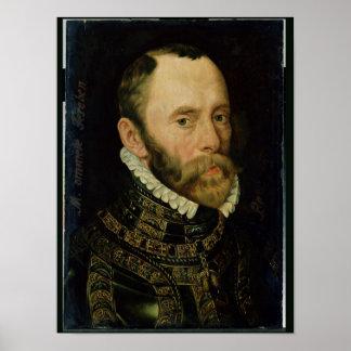Portrait of Filips van Montmorency Poster