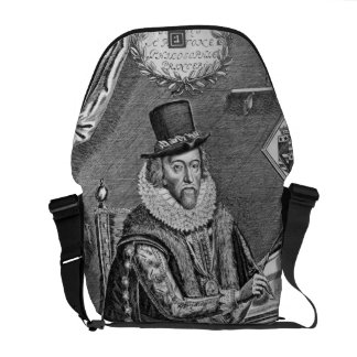 Portrait of Francis Bacon (1561-1626) Viscount of Messenger Bags