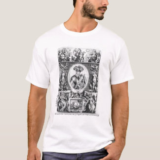 Portrait of Francisco Pizarro  with allegorical T-Shirt
