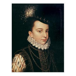 Portrait of Francois Hercule de France Postcard