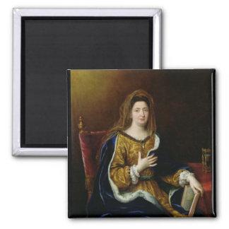 Portrait of Francoise d'Aubigne  Marquise Refrigerator Magnets