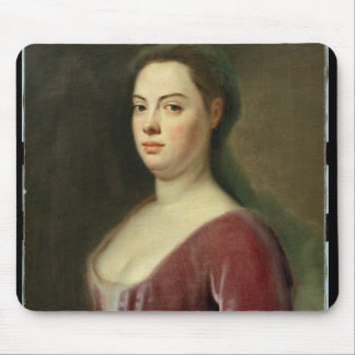 Portrait of Frau Denner Mouse Pad