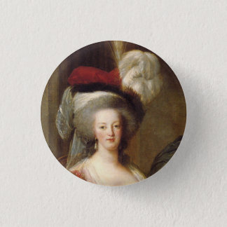 Portrait of French Queen, Marie Antoinette 3 Cm Round Badge