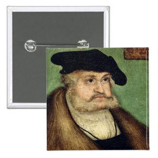 Portrait of Friedrich III  Elector of Saxony 15 Cm Square Badge