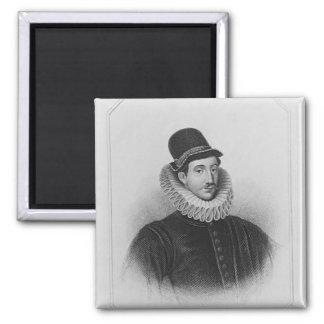 Portrait of Fulke Greville  1st Baron Brooke Magnet