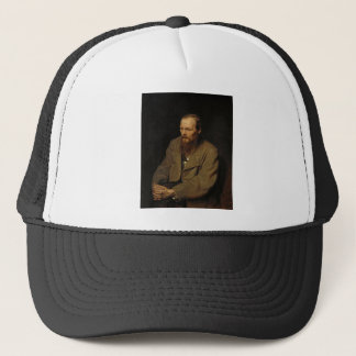 Portrait of Fyodor Dostoyevsky by Vasily Perov Trucker Hat