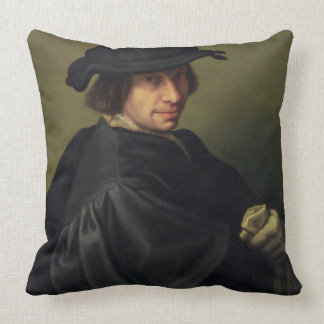 Portrait of Galeazzo Campi (1475-1536) the Artist' Throw Cushions