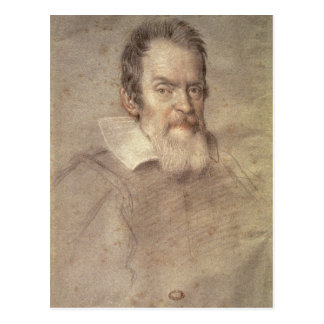 Portrait of Galileo Galilei  Astronomer Postcard