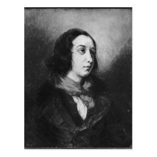 Portrait of George Sand, 1838 Postcard