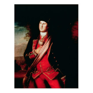 Portrait of George Washington  1772 Postcard