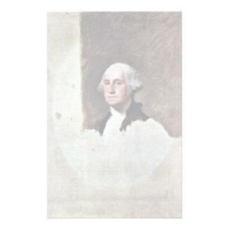 Portrait Of George Washington,  By Gilbert Stuart Personalized Stationery