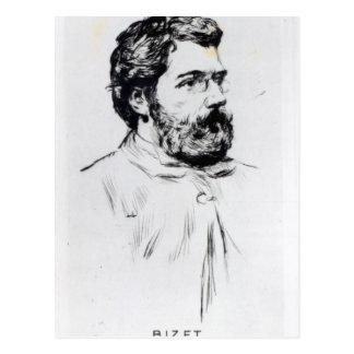 Portrait of Georges Bizet Postcard