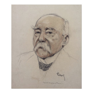 Portrait of Georges Clemenceau Poster