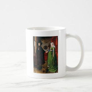 Portrait of Giovanni Arnolfini and His Wife Coffee Mug