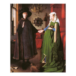 Portrait of Giovanni Arnolfini and his Wife Flyers