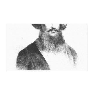 Portrait of Giovanni Battista Belzoni Canvas Print