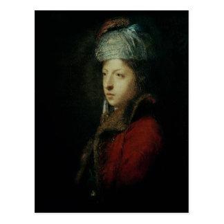 Portrait of Giuseppe Marchi  1753 Postcard