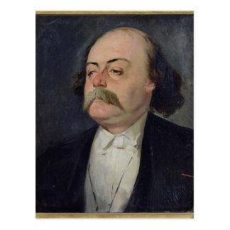 Portrait of Gustave Flaubert  1868-81 Postcard