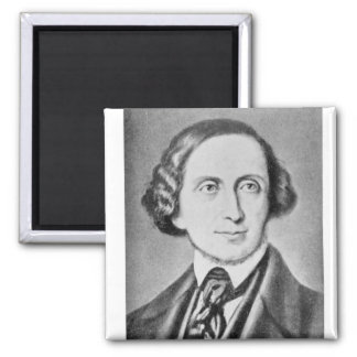 Portrait of Hans Christian Andersen 2 Magnet