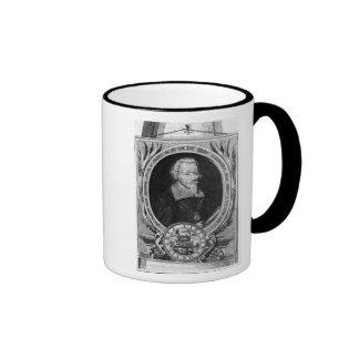 Portrait of Heinrich Schutz Ringer Mug