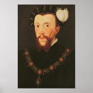 Portrait of Henry Howard, 1546 Poster