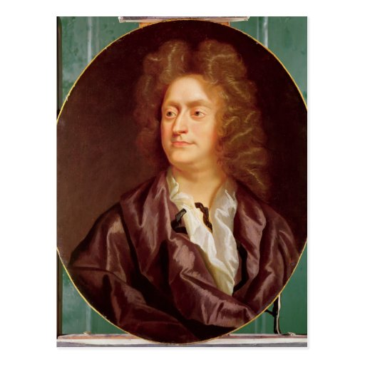 Portrait of Henry Purcell, 1695 Post Cards