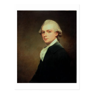 Portrait of Henry Russell (1751-1836) c.1783 (oil Postcard