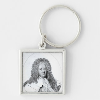 Portrait of Henry St. John  1st Viscount Key Chain