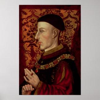 Portrait of Henry V Poster