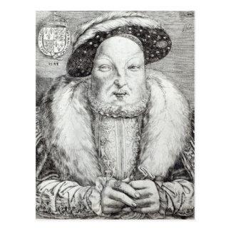 Portrait of Henry VIII, 1548 Postcard