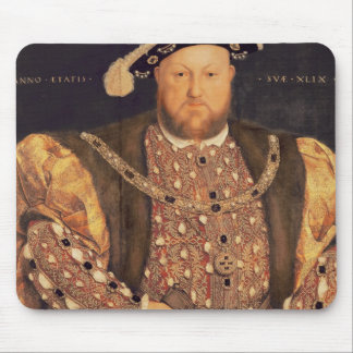 Portrait of Henry VIII  aged 49, 1540 Mousepads