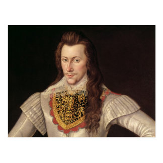 Portrait of Henry Wriothesley  3rd Earl Postcard